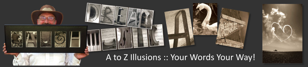 A to Z Illusions, Photographic Alphabet
