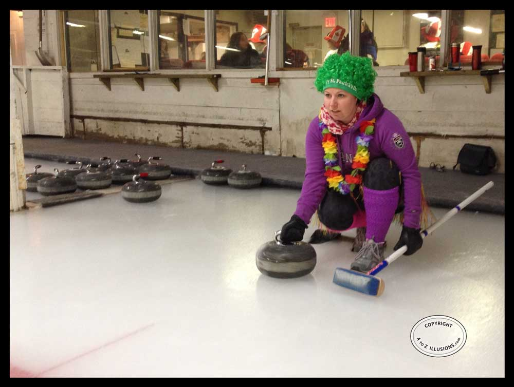 curling with A to Z Illusions 2014 - photo
