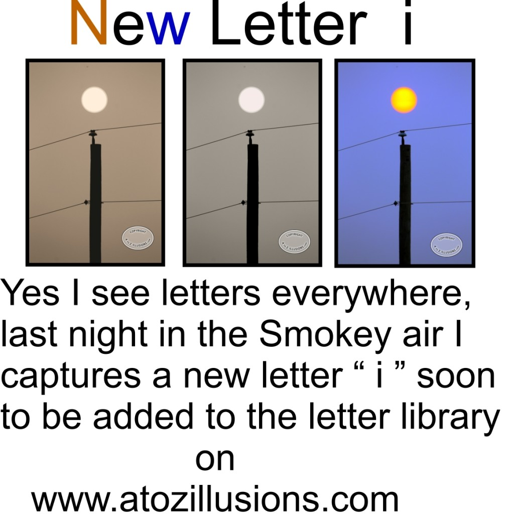 New Photo Letter i